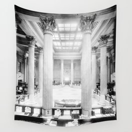 U.S. Custom House New Orleans Wall Tapestry