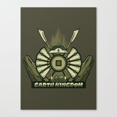 Avatar Nations Series - Earth Kingdom Canvas Print