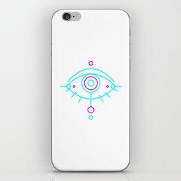 Eye of awakening iPhone Skin