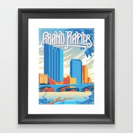 Grand Rapids Framed Art Print