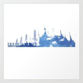 1YEARSKY Art Print