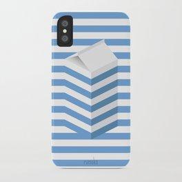 SPLIT MILK iPhone Case