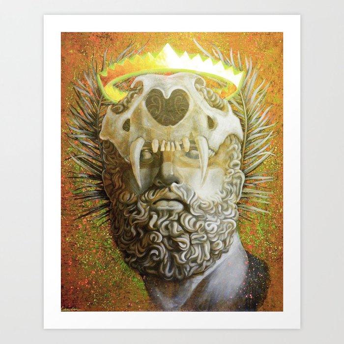 """The Protector"" Art Print"