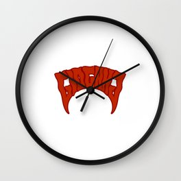 Keith Farrelle Cozart - Chief Keef - GloGang - GBE - Society6 Hip Hop RED Wall Clock