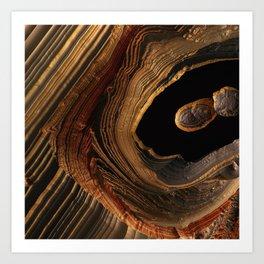 Tiger's Eye Canyon Art Print