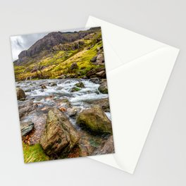 Llanberis Pass Snowdonia Stationery Cards