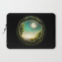 Magic Moon Tree Laptop Sleeve