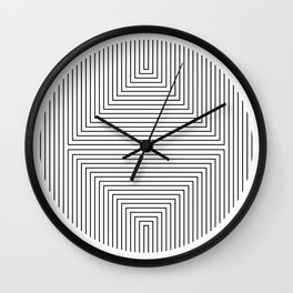 Linea square Wall Clock