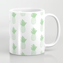 Mint Pineapple Pattern 2 Coffee Mug