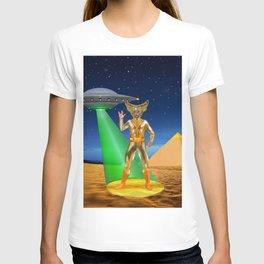 Ancient Vulcan Space Alien T-shirt