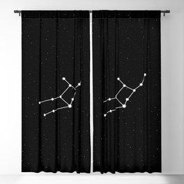 Virgo Star Sign Night Sky Blackout Curtain