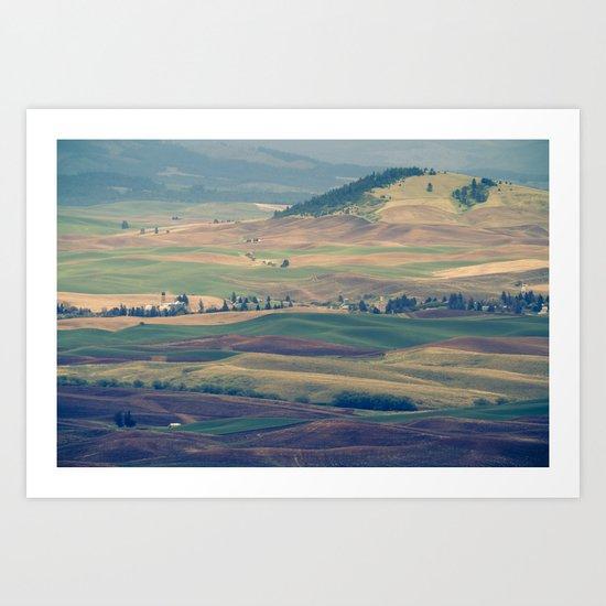 The Palouse Art Print