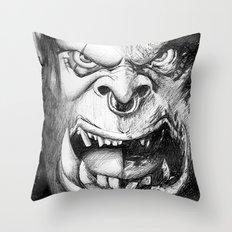World Of Pencraft Throw Pillow