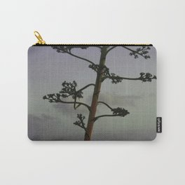 Agave flower stalk and clouds Carry-All Pouch