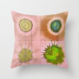 Tricksical Peeled Flowers  ID:16165-011113-25451 Throw Pillow