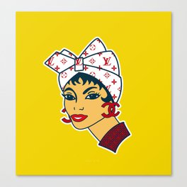 Harina PAN high society Canvas Print
