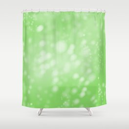 Lime Green Ombre Shower Curtain