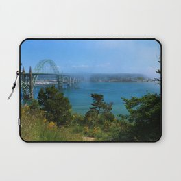 Bridge Over Calm Waters Laptop Sleeve