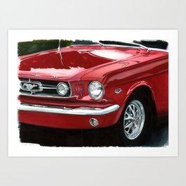 Mustang #5 Art Print