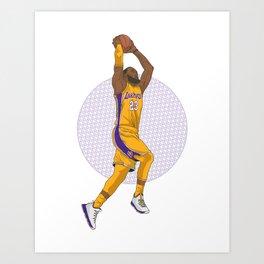LAbron Art Print