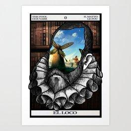 Cervantes para-dox Art Print