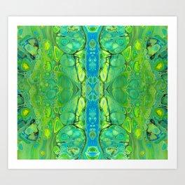 mirror 10 Art Print