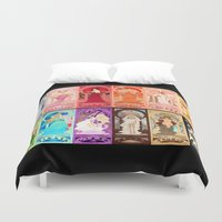 zodiac Duvet Covers featuring Zodiac Collection by Sprat