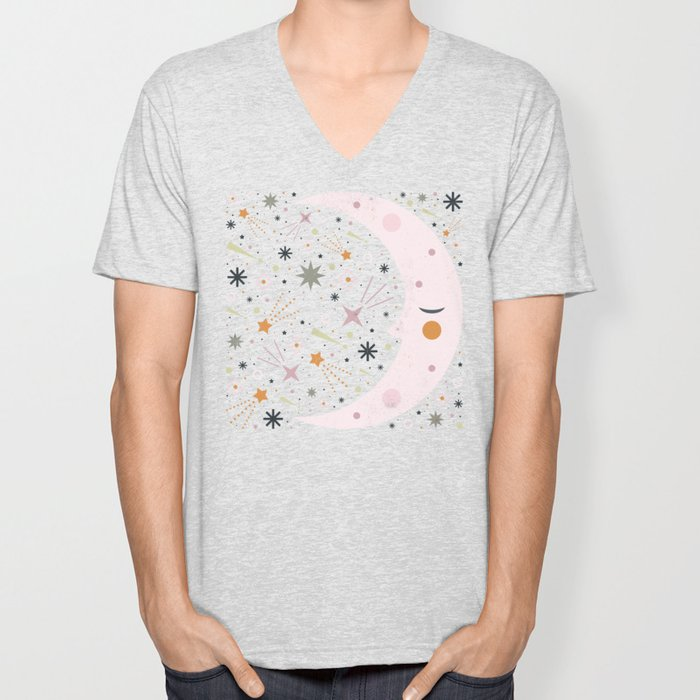 Mr Moon Unisex V-Neck
