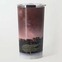 Milky Way Meteor Field Travel Mug