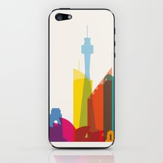 Shapes of Sydney. Accurate to scale iPhone & iPod Skin