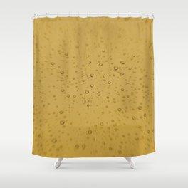 Champagne Fizz Bubble Explosion Shower Curtain