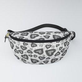 Leopard Heart 02 Fanny Pack