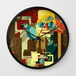 Frank Cappa Wall Clock