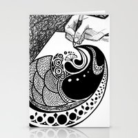 doodle Stationery Cards featuring Doodle by ALT Illustration