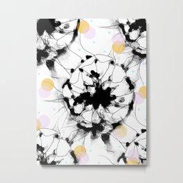 Fleurdots Metal Print