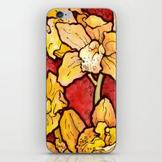 Yellow Lillies iPhone & iPod Skin