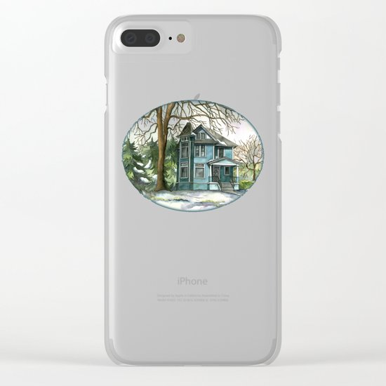 The House Under the Big Tree Clear iPhone Case