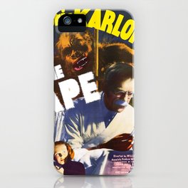 Boris Karloff - The Ape iPhone Case