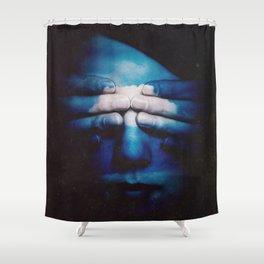 Soft Gaze Shower Curtain