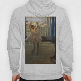 Dancer Posing 1878 By Edgar Degas | Reproduction | Famous French Painter Hoody