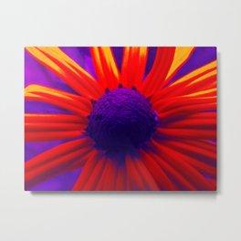 Flower Pop Metal Print