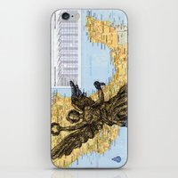 mexico iPhone & iPod Skins featuring Mexico  by Ursula Rodgers