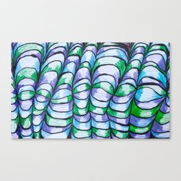 Mountaineous Loom Canvas Print