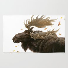 Moose Reflection Rug