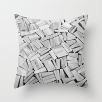 pulp fiction Throw Pillows featuring Pulp fiction by GrandeDuc