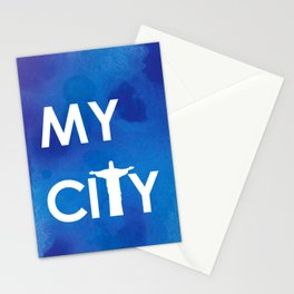 MyCity-Rio-BlueA Stationery Cards