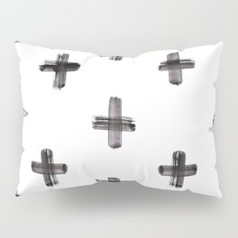plus sign pattern Pillow Sham