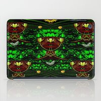 leather iPad Cases featuring Leather Heads by Pepita Selles