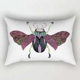 Beetle #4 Color Rectangular Pillow