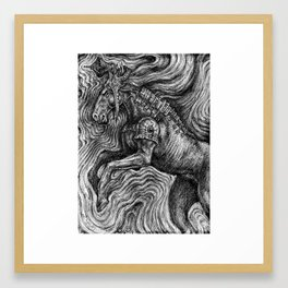 Horse Guardian Framed Art Print